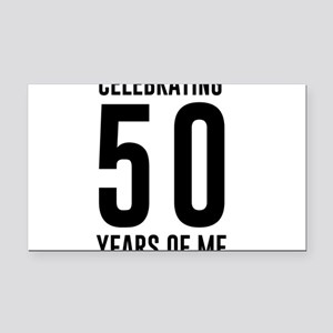 Celebrating 50 Years of Me Rectangle Car Magnet