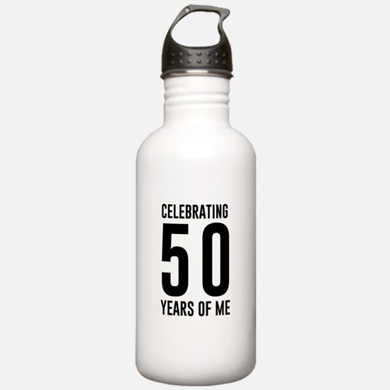 Celebrating 50 Years of Me Water Bottle