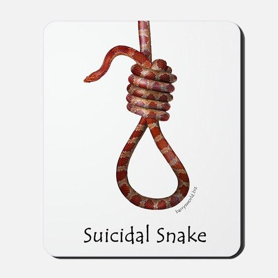 Suicidal Snake Mousepad