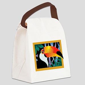 Toucan Tango Canvas Lunch Bag