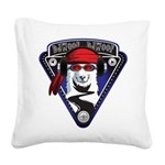 DJWooF Square Canvas Pillow