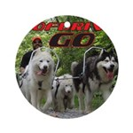 Go WooFDriver Go Ornament (Round)
