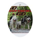 Go WooFDriver Go Ornament (Oval)