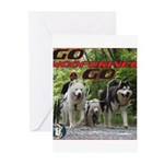Go WooFDriver Go Greeting Cards