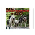Go WooFDriver Go Postcards (Package of 8)