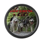 Go WooFDriver Go Large Wall Clock