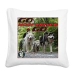 Go WooFDriver Go Square Canvas Pillow