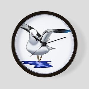 Seagull Liftoff Wall Clock