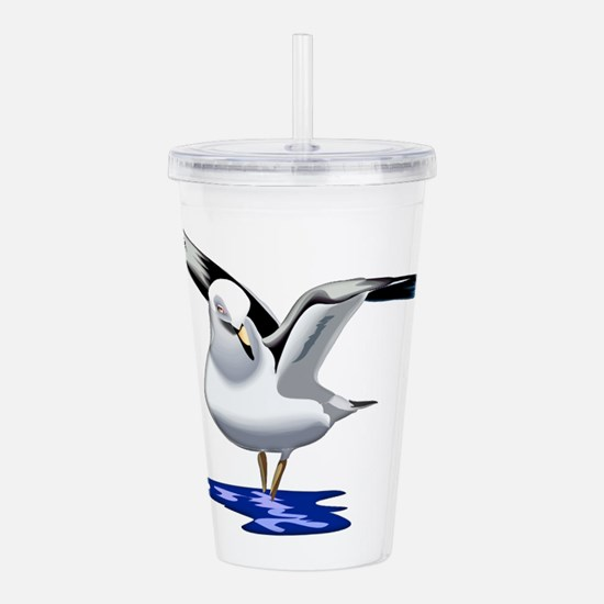 Seagull Liftoff Acrylic Double-wall Tumbler
