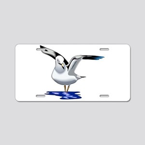 Seagull Liftoff Aluminum License Plate