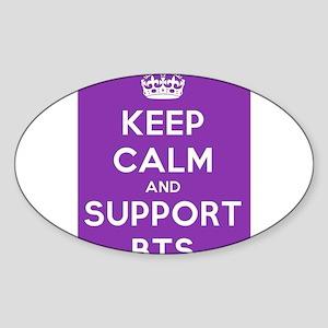 Support BTS Sticker (Oval)