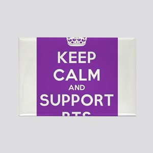 Support BTS Rectangle Magnet