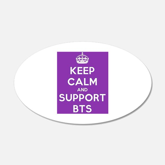 Support BTS Wall Decal