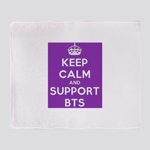 Support BTS Throw Blanket