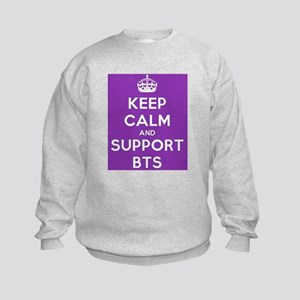 Support BTS Kids Sweatshirt