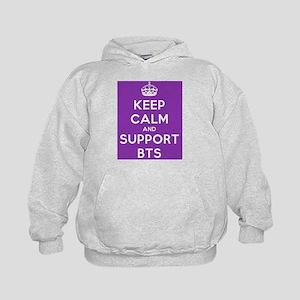 Support BTS Kids Hoodie