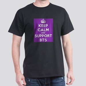 Support BTS Dark T-Shirt
