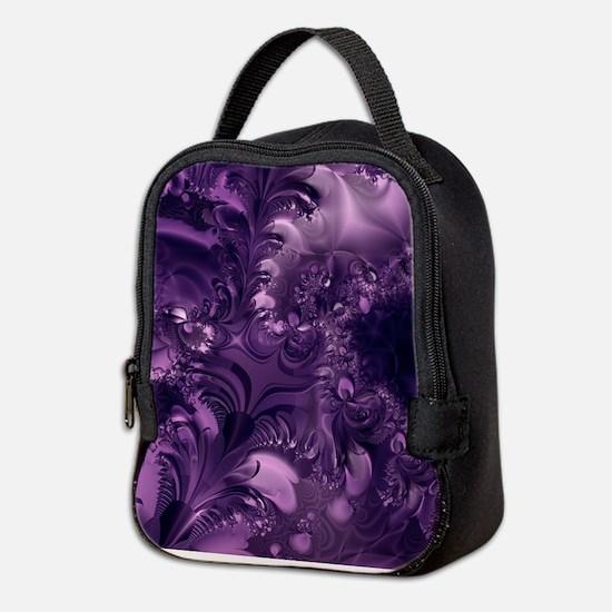 Purple Glory Neoprene Lunch Bag