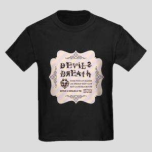 HALLOWEEN STRIPE Kids Dark T-Shirt
