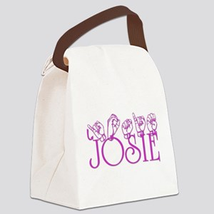 Josie Canvas Lunch Bag