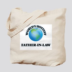 World's Hottest Father-in-Law Tote Bag
