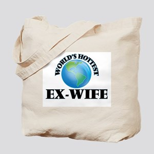 World's Hottest Ex-Wife Tote Bag