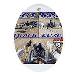 HotROD Quad Ornament (Oval)