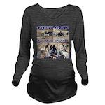 HotROD Quad Long Sleeve Maternity T-Shirt