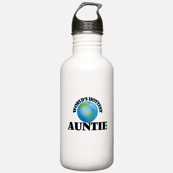 World's Hottest Auntie Water Bottle