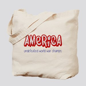 Undefeated Tote Bag