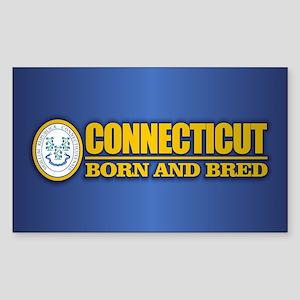 Connecticut (born and bred) Sticker
