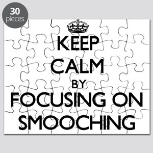 Keep Calm by focusing on Smooching Puzzle