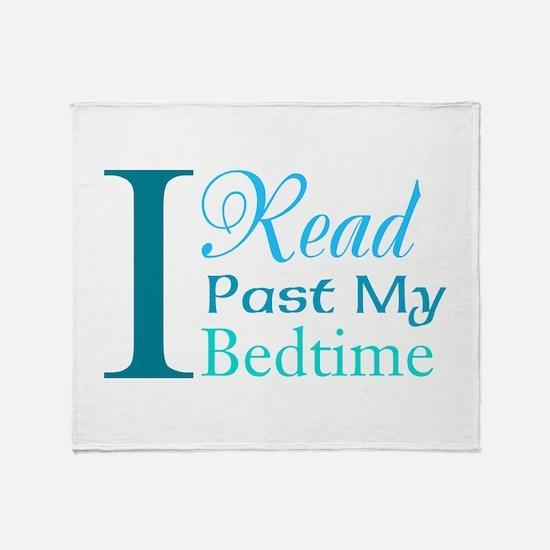 Rebel Reader Throw Blanket