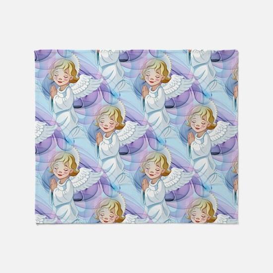 Praying Angel- Throw Blanket