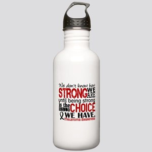 Melanoma HowStrongWeAr Stainless Water Bottle 1.0L