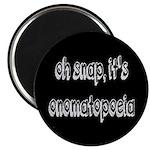 Oh Snap, It's Onomatopoeia Magnet