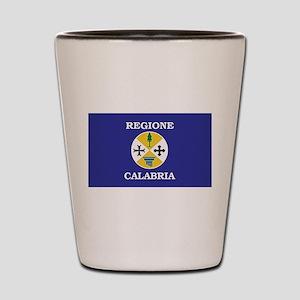 Regione Calabria Shot Glass
