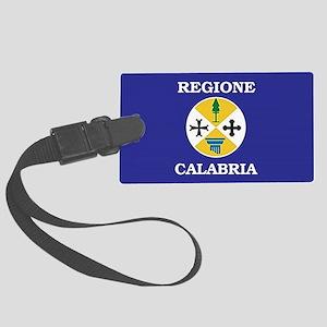 Regione Calabria Luggage Tag