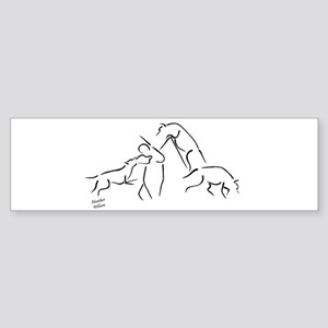 SCHUTZHUND TRIATHALON OF THE Bumper Sticker