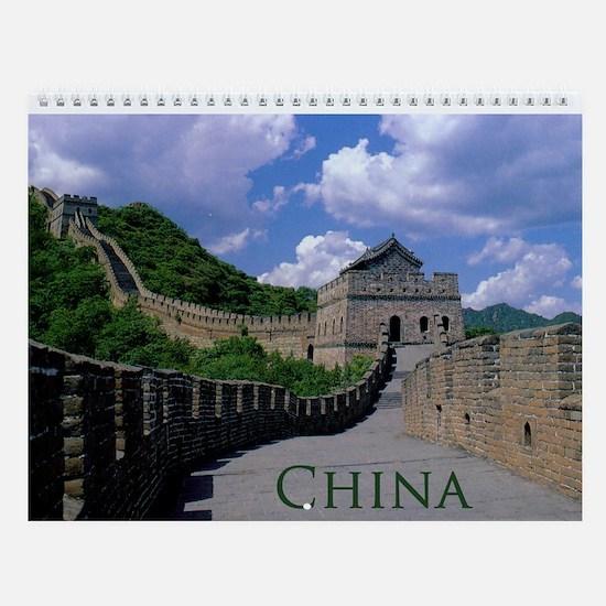 China Wall Calendar