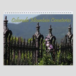 Colorado Mountain Cemeteries Wall Calendar