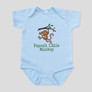 Papou's Little Monkey Body Suit