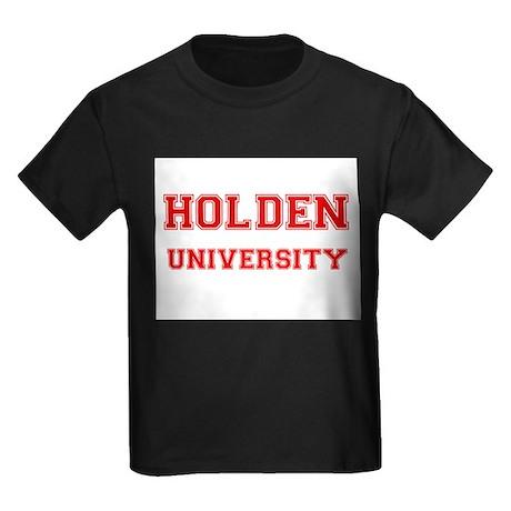 HOLDEN UNIVERSITY Kids Dark T-Shirt