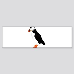 Pretty Puffin Bumper Sticker