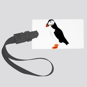 Pretty Puffin Large Luggage Tag