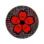 Red and Black Flower 3.5
