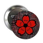 Red and Black Flower 2.25