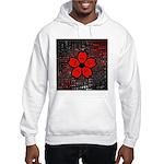 Red and Black Flower Hoodie