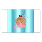 Pink Cupcake Love Sticker