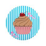 Pink Cupcake Love 3.5